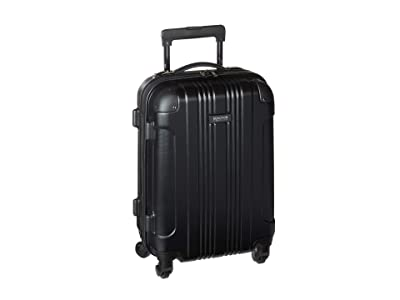 Kenneth Cole Reaction 20 Out of Bounds Lightweight Hardside 4-Wheel Spinner Carry-On Travel Luggage (Black) Luggage