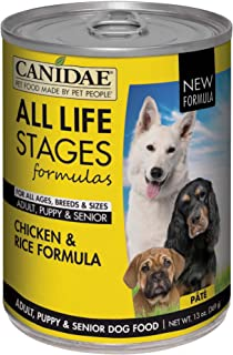 CanidaeLife Stages Canned Dog Food For Puppies, Adults & Seniors, 12 Pack