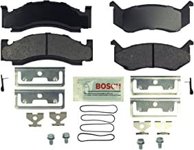 Bosch BE269H Blue Disc Brake Pad Set with Hardware for Select Full-Size 1974-94 Dodge Trucks, SUVs, and Vans - FRONT