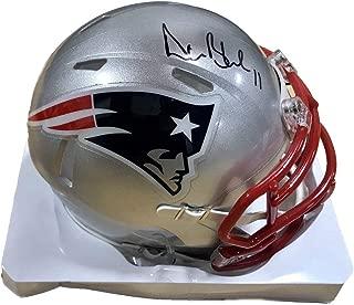 drew bledsoe signed helmet