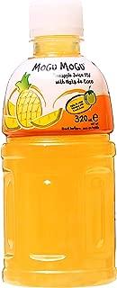 Mogu Mogu Juice with Nata De Coco, Pineapple, 10.8oz (Pack of 6)