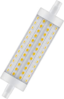 OSRAM LED Star LINE R7s / LED Tube: R7s, 12.50 W, 100 W Replacement for, Clear, Warm White, 2700 K, / / Pack of 10