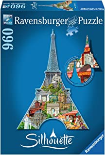 Ravensburger Eiffel Tower 960 Piece Jigsaw Puzzle for Adults – Every Piece is Unique, Softclick Technology Means Pieces Fit Together Perfectly