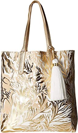 Gold Metallic Turtley Awesome Tote