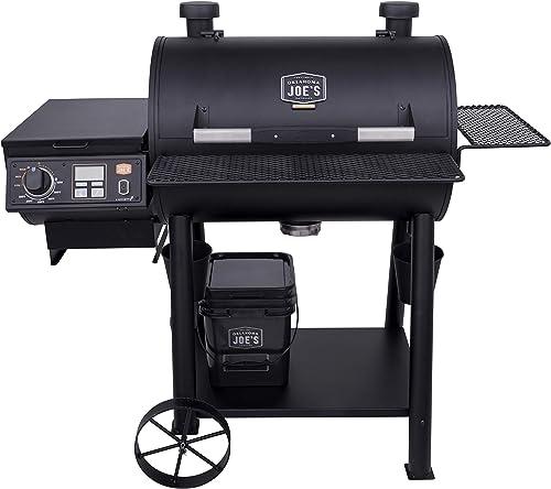 Oklahoma-Joe's-20202105-Rider-900-Pellet-Grill,-Black