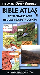 Holman QuickSource Bible Atlas with Charts and Biblical Reconstructions