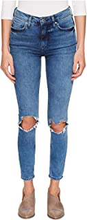 Women's High-Rise Busted Skinny in Turquoise