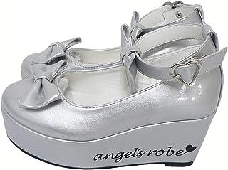 [天使のドレス屋さん] ダブルリボンパンプス 子供靴 全3色 18-23cm