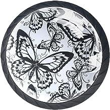 Ladeknoppen Ronde Kast Handgrepen Pull voor Home Office Keuken Dressoir Garderobe Decoreren, Vlinders
