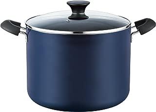 Cook N Home 02474 Nonstick Stockpot, 10.5 Quart, Blue