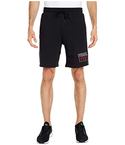 PUMA Sport Shorts (Cotton Black) Men