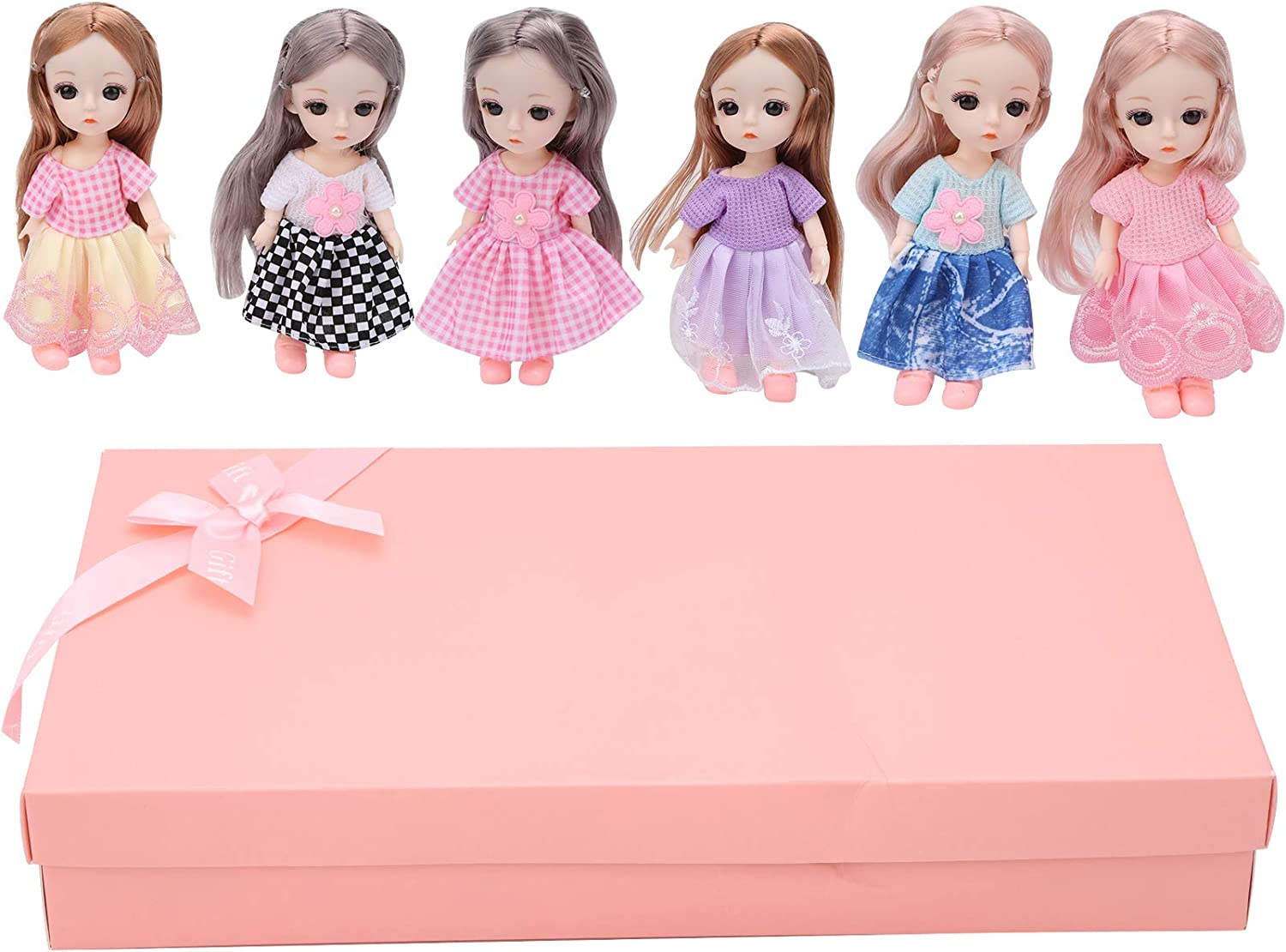 GLOGLOW Dolls Toys online shopping Fort Worth Mall Princess Collectible Baby Mini Doll DI