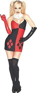 DC Comics Secret Wishes Super Villain Harley Quinn Costume