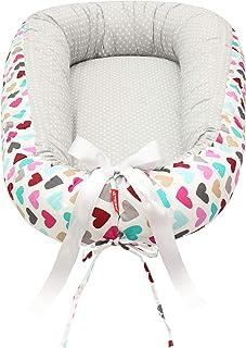 Scamp de 29,9 EUR Premium Babynest para bebés, bebés, bebés, cuna de viaje, antialérgica, 100% algodón, Öko-Tex 100 Standa...