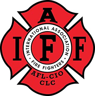 union firefighter stickers