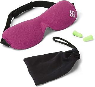 Pink Bedtime Bliss Eye Mask for Sleeping | Sleep Mask for Men & Women. Our Luxury Blackout Masks are Adjustable, Contoured...