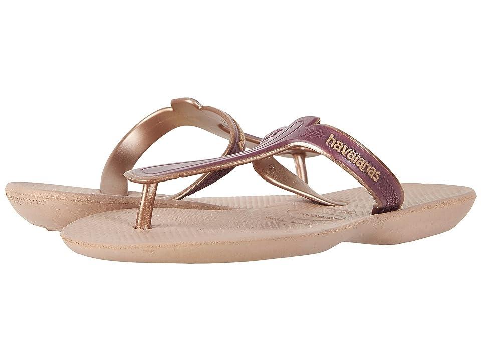 34357643e Havaianas Casual Flip-Flops (Rose Gold) Women