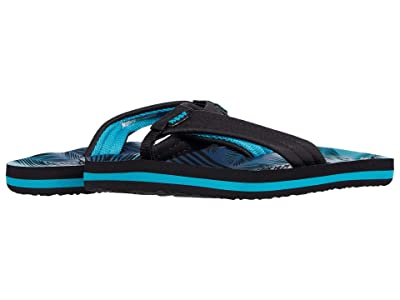 Reef Kids Ahi (Little Kid/Big Kid) (Aqua Palms) Boys Shoes