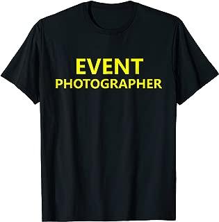 wedding photographer t shirt