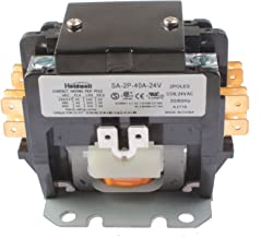 Holdwell SA-2P-40A-24V 2 Pole 40 Amp 24V Coil Definite Purpose Contactor