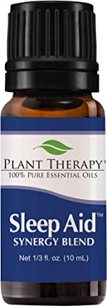 Plant Therapy Synergy Essential Oil - Sleep Aid for Unisex - 0.33 oz, 86.18 grams