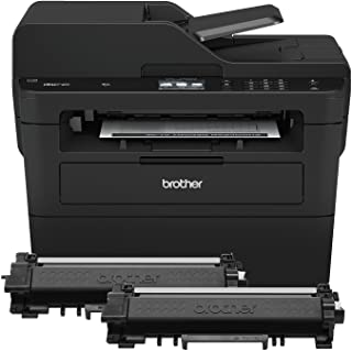Brother Compact Monochrome Laser All-in-One Multi-function Printer, MFCL2750DWXL, Up to Two Years of Printing Included, Am...