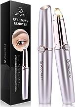 Eyebrow Hair Remover, Vogcrest Painless Eyebrow Trimmer for Women, Portable Eyebrow Hair..