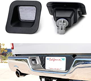iJDMTOY OEM-Replace Clear Lens License Plate Lamps Assy For 2003-2018 Dodge RAM 1500 2500 3500, LH RH w/Light Bulbs and Sockets
