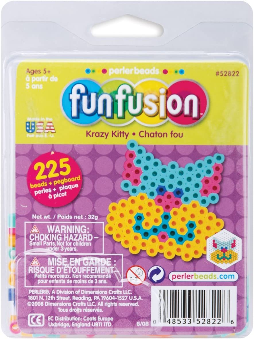 Perler Fuse Bead Activity Limited price Kit Kitty Fusion Max 85% OFF Fun Krazy