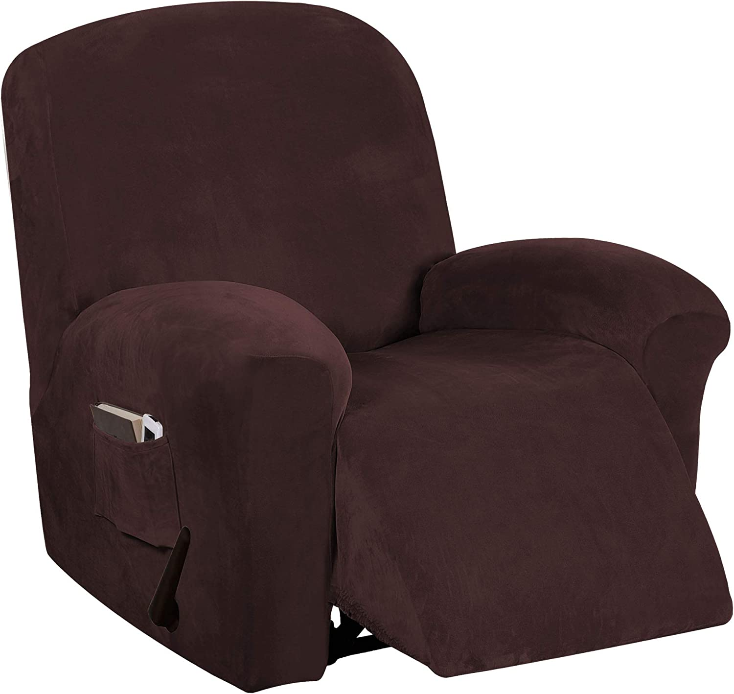 Velvet Stretch 2021 new Indianapolis Mall Recliner Chair Covers Electri for
