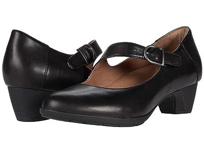 Dansko Dianne (Black Aniline Calf) Women