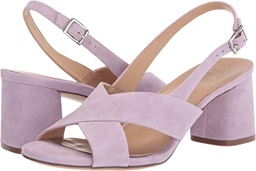 Wisteria Purple Suede