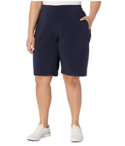 Columbia Plus Size Place to Placetm II Shorts (Dark Nocturnal) Women