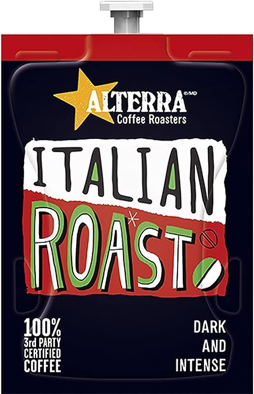FLAVIA ALTERRA Coffee Italian Roast 20 Count Fresh Packs Pack Of 1 Rail
