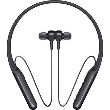Sony WI-C600N Wireless Noise Canceling in-Ear Headphones, Black (WIC600N/B) (WI-C600N/B)