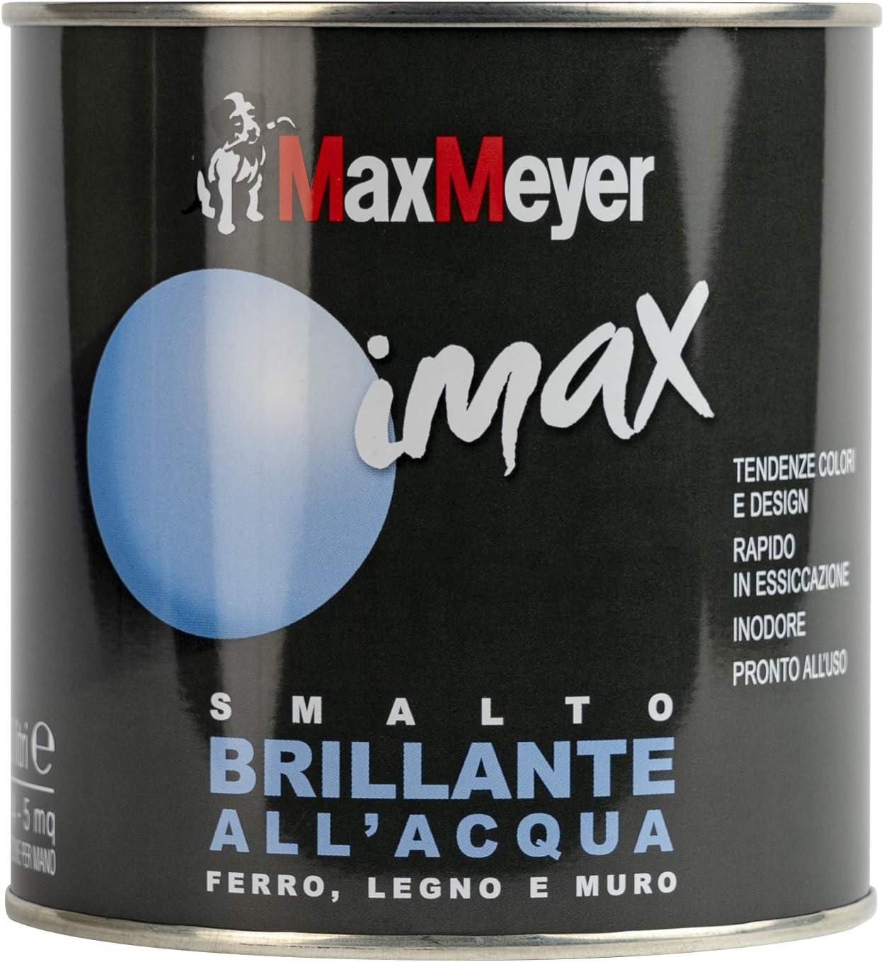 Maxmeyer 162571c400036 Smalto Brillante All Acqua Bianco Neve 0 5l Amazon It Fai Da Te