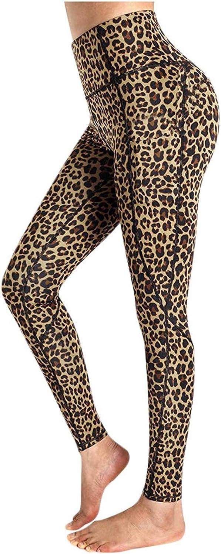 Womens High Waisted Yoga Pants V Cross Waist Side Pocketed Tummy Control Workout Leggings