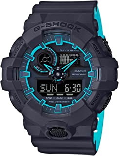G-SHOCK Men's GA700SE-1A2 Year-Round Analog-Digital Automatic Black Watch