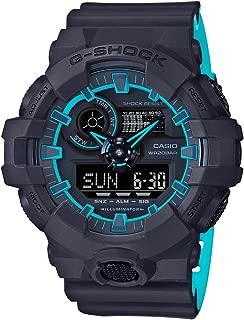 Casio Mens Quartz Watch, Analog-Digital Display and Resin Strap GA-700SE-1A2DR