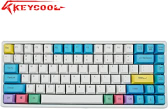 Keycool Hero 84 2018 Edition Mechanical Keyboard Cherry MX Switches Mini Gaming 84 Keys Keyboard (Stop Production) (Cherry MX Brown)