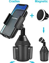 Lorima Cup Holder Phone Mount - Universal Adjustable Portable Magnetic Car Cup Holder for Cell Phones…