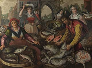 Oil Painting 'Joachim Beuckelaer The Four Elements Water ' Printing On Perfect Effect Canvas , 12 X 16 Inch / 30 X 41 Cm ,the Best Kids Room Decor And Home Decoration And Gifts Is This High Quality Art Decorative Canvas Prints