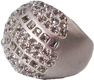 Lia Sophia Kiam Family Jewelry Sparkle crest ring in Silver size 7
