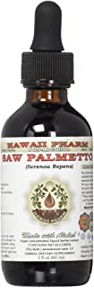 Saw Palmetto Alcohol-Free Liquid Extract, Organic Saw Palmetto (Serenoa Repens) Dried Berry Glycerite 2 oz