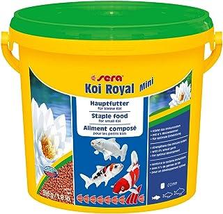 Sera - Alimento Completo Koi Royal Mini (2 mm) para el Desarrollo óptimo de Peces Koi hasta 12 cm, con prebióticos para un...