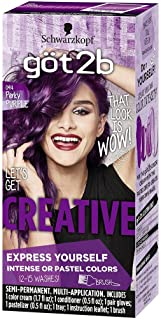 Got2b Creative Semi-Permanent Hair Color, 094 Perky Purple