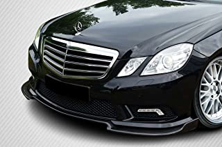 Carbon Creations Replacement for 2010-2012 Mercedes E Class W212 BR-S Front Lip Spoiler - 1 Piece