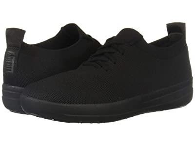 FitFlop F-Sporty Uberknit Sneakers (All Black 2) Women