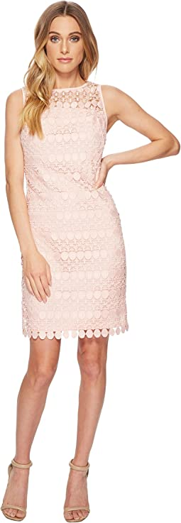Melia Circlet Geo Lace Dress