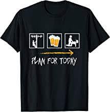 Linesman Plan For Today Working Drinking Fucking Joke Gift T-Shirt